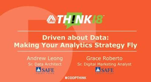 Driven about by Data Making your Analytics Strategy Fly - Wednesday: The Chat Room
