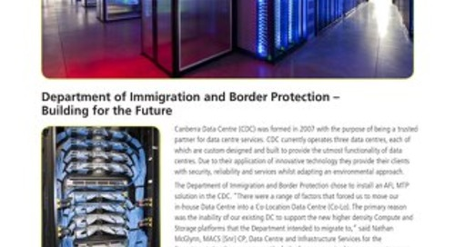 Department of Immigration and Border Protection - Building for the Future