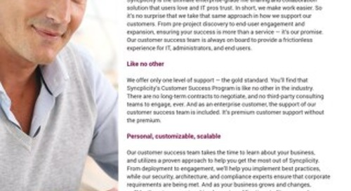Syncplicity Customer Success Program