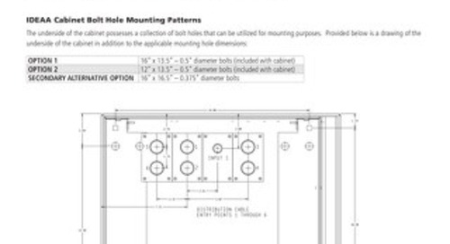 IDEAA® Cabinet Split-lid Hand-holes