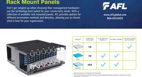 Rack Mount Panels Selection Guide