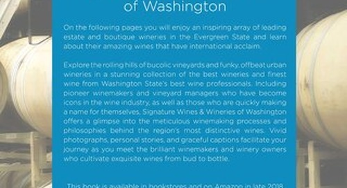 Signature Wines & Wineries of Washington (digital version)