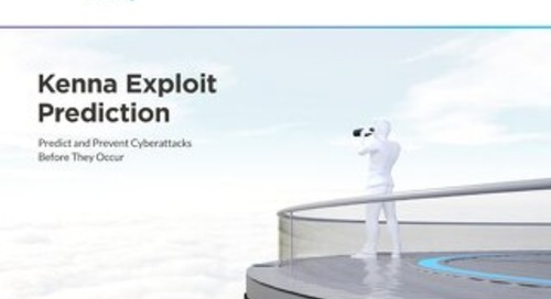 Kenna Exploit Prediction Solution Brief