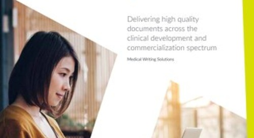 Parexel Medical Writing Solutions Brochure