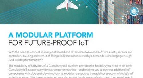 Modular platform for a future-proof IoT