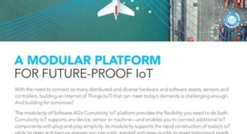 Modular platform for a future-proof IoT