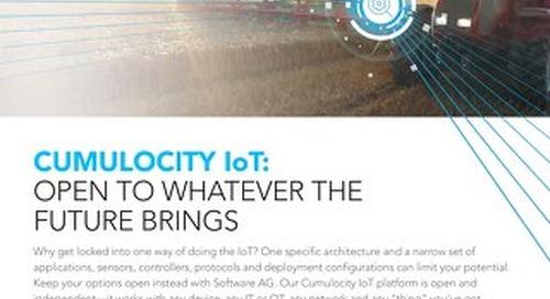 Cumulocity IoT: Open & independent