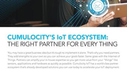 Cumulocity's IoT partner ecosystem