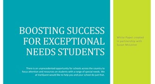 eBook: Boosting Success for Exceptional Needs Students