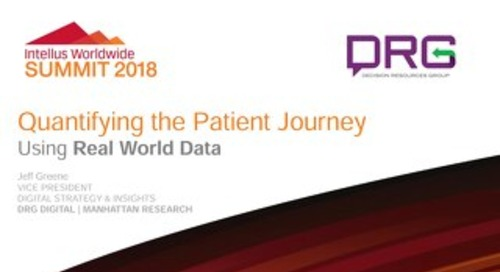 Quantifying the Patient Journey Using Real World Data