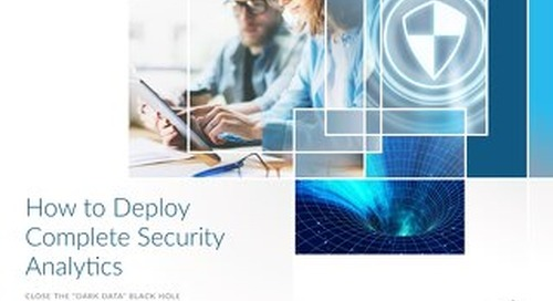 How to Deploy Complete Security Analytics