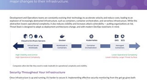 Security for Evolving Infrastructure