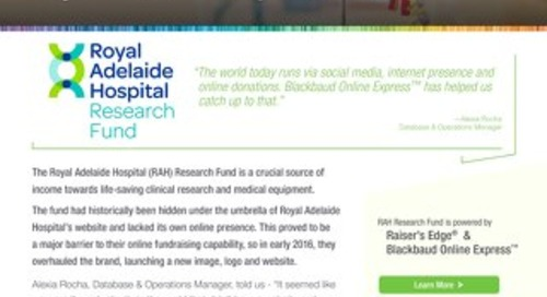 Royal Adelaide Hospital Research & OLX