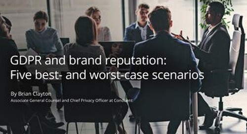 GDPR and Brand Reputation: Five best- and worst-case scenarios