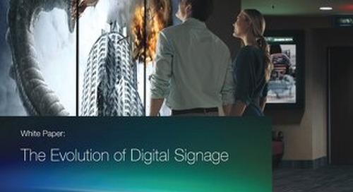 The Evolution of Digital Signage