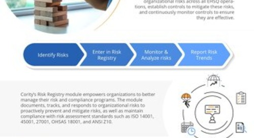 One Pager - Risk Registry