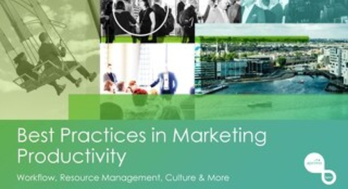 Best Practices in Marketing Productivity - Carolyn Ghaie [Aprimo Sync! Chicago]