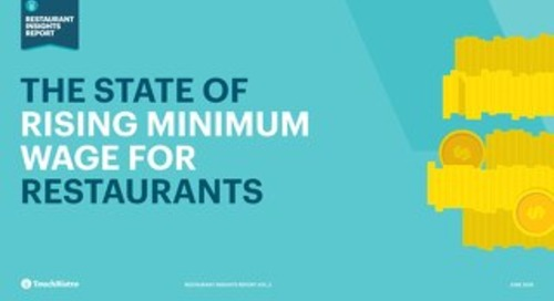 The State of Rising Minimum Wage for Restaurants
