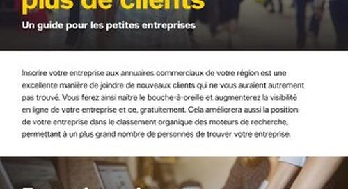 Comment se servir des annuaires en ligne pour joindre plus de clients