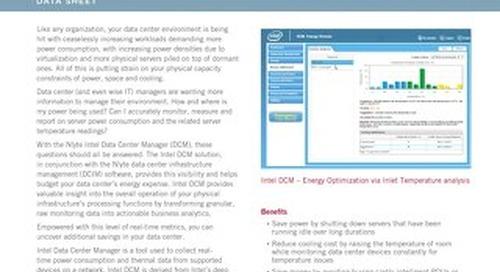 Nlyte Intel Data Center Manager (DCM)