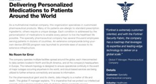Delivering Personalized Medications to Patients Around the World