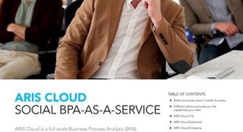 Discover ARIS Cloud: Social BPA-as-a-Service