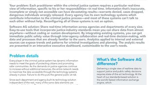 Protecting communities through real-time information sharing