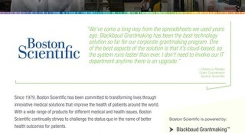 Boston Scientific | Customer Spotlight