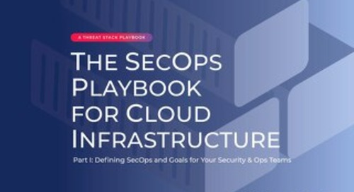 SecOps Playbook for Cloud Infrastructure