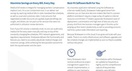 Strataware® Bill Review Software