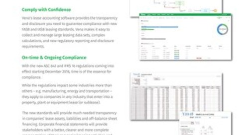 Vena Lease Accounting Datasheet