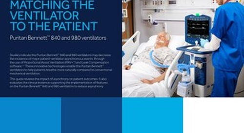 Clinical Evidence Guide: Matching the Ventilator to the Patient