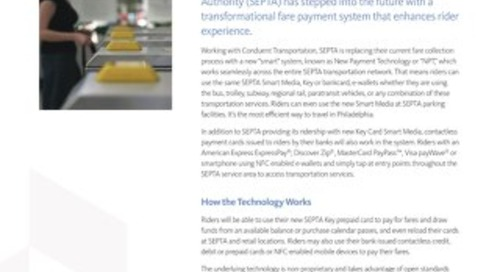 SEPTA Introduces the Key Card Solution Using Open Payments