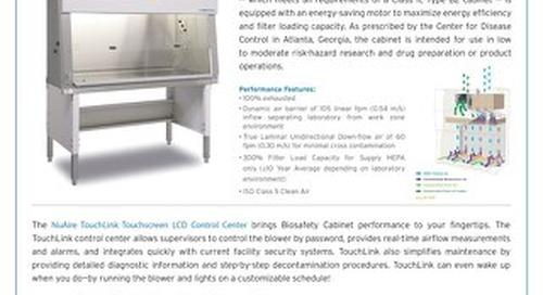 [Flyer] LabGard NU-560 Class II, Type B2 Biosafety Cabinet