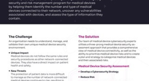 Biomedical Device Security Services