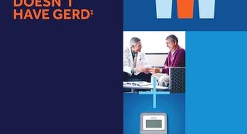 Bravo™ Reflux Testing System 1 in 3 Brochure