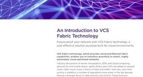 An Introduction to VCS Fabric Technology