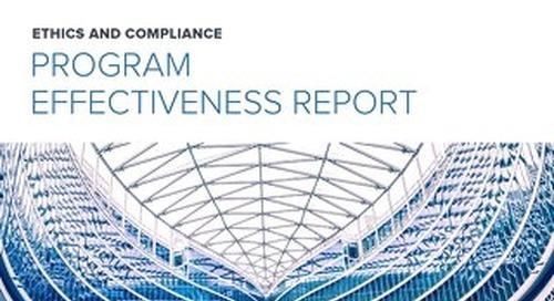 2016 E&C Program Effectiveness Report