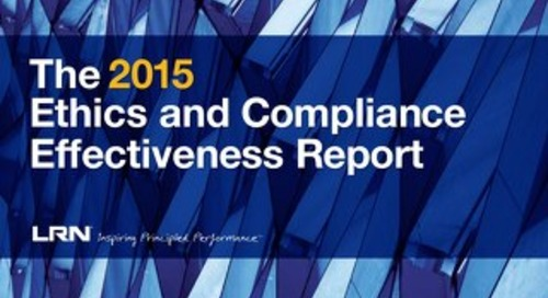 2015 E&C Program Effectiveness Report