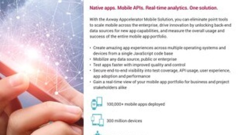 Axway Appcelerator Mobile Solution
