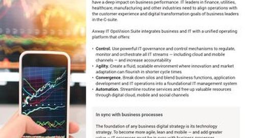Axway IT OpsVision Suite