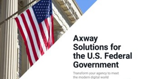 Axway Solutions for the U.S. Federal Government