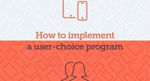 Jamf: How to Implement a User Choice Program