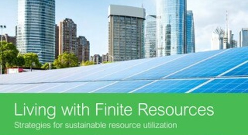 Living with Finite Resources: Strategies for Sustainable Resource Utilization