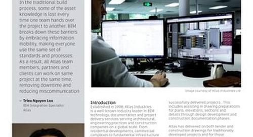 Atlas Wins with BIM Collaboration