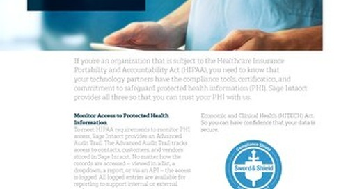 HIPAA: Safeguard Protected Health Information
