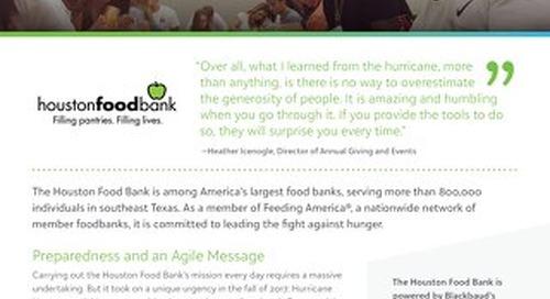 Customer Spotlight - Houston Food Bank