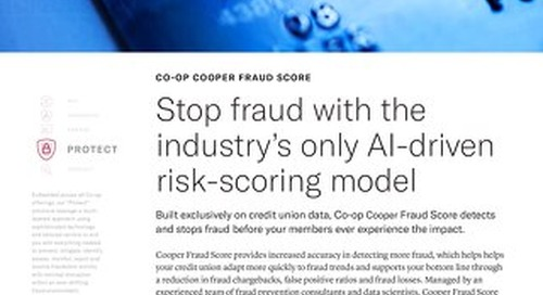 CO-OP COOPER Slipsheet