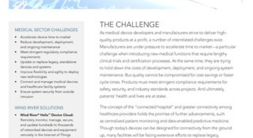 Solutions for Medical Sector Use Case