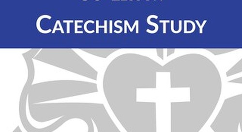 30-Lesson Catechism Study: Student Book Sample